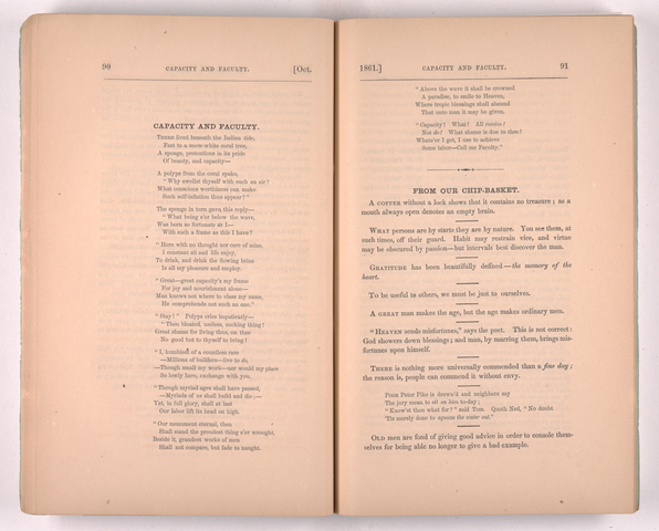 Amherst College magazine, 1861 October