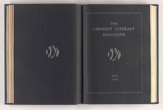 Amherst literary magazine, 1930 May