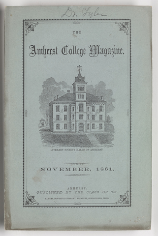 Amherst College magazine, 1861 November