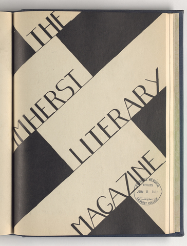 Amherst literary magazine, 1931 May