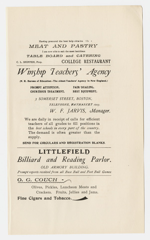 Amherst literary monthly, 1897 January