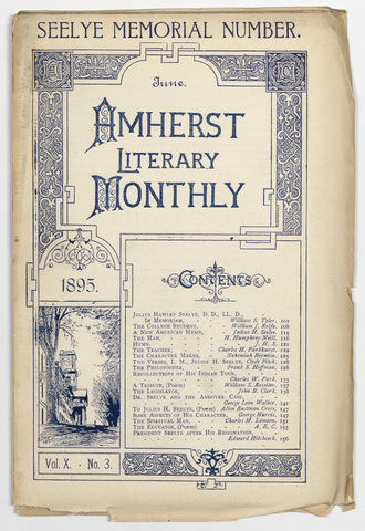 Amherst literary monthly, 1895 June