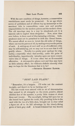 Amherst literary monthly, 1892 March