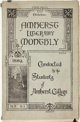 Amherst literary monthly, 1889 October