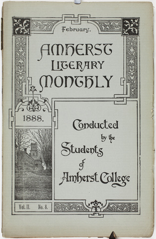 Amherst literary monthly, 1888 February