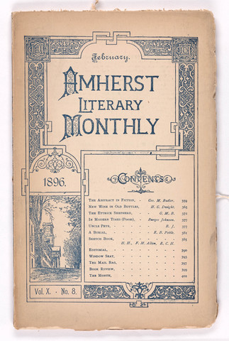 Amherst literary monthly, 1896 February
