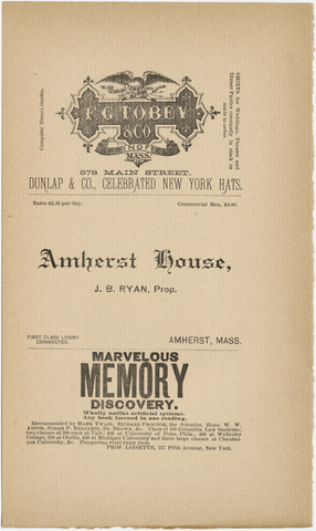 Amherst literary monthly, 1888 December