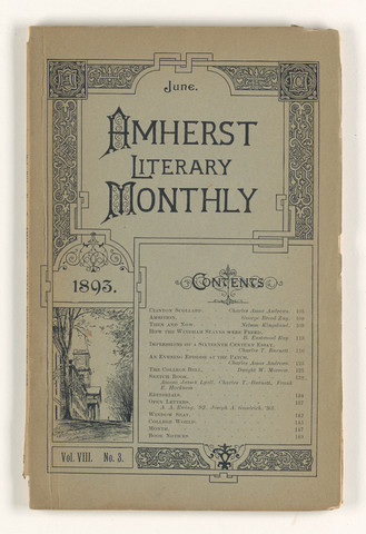 Amherst literary monthly, 1893 June