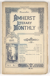 The Amherst literary monthly, 1895 November