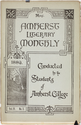 Amherst literary monthly, 1889 May