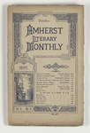 The Amherst literary monthly, 1895 October