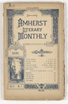 The Amherst literary monthly, 1896 January