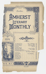 The Amherst literary monthly, 1894 October