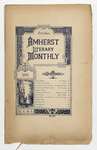 The Amherst literary monthly, 1896 October