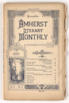 The Amherst literary monthly, 1895 December