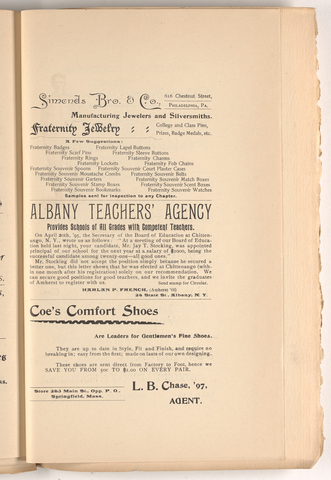 Amherst literary monthly, 1895 December
