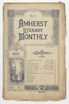 The Amherst literary monthly, 1895 April