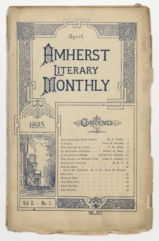 Amherst literary monthly, 1895 April