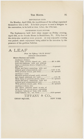 Amherst literary monthly, 1892 May