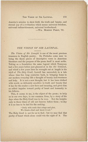 Amherst literary monthly, 1888 October
