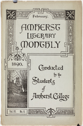 Amherst literary monthly, 1890 February