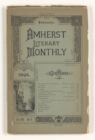 Amherst literary monthly, 1894 February