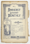 The Amherst literary monthly, 1895 May