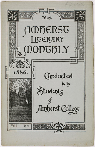 Amherst literary monthly, 1886 May