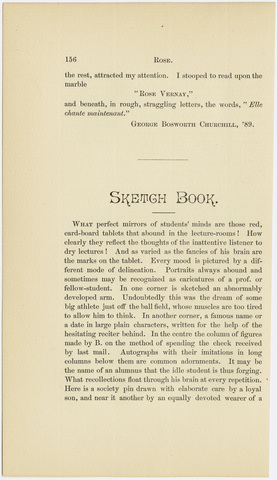 Amherst literary monthly, 1886 October