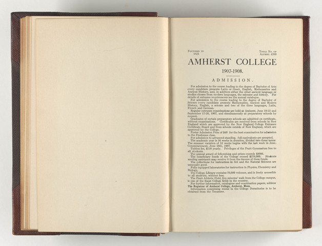 Amherst literary monthly, 1908 May