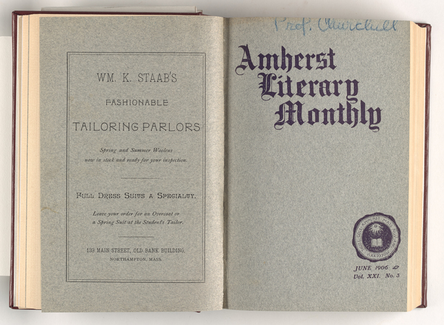 Amherst literary monthly, 1906 June