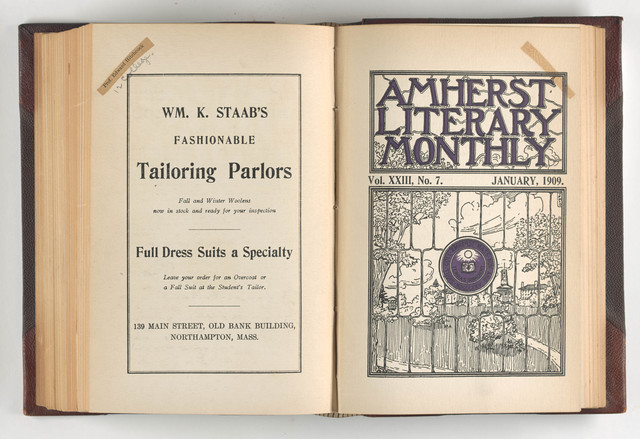 Amherst literary monthly, 1909 January
