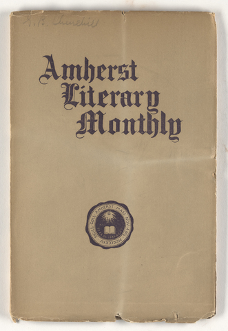 Amherst literary monthly, 1905 April