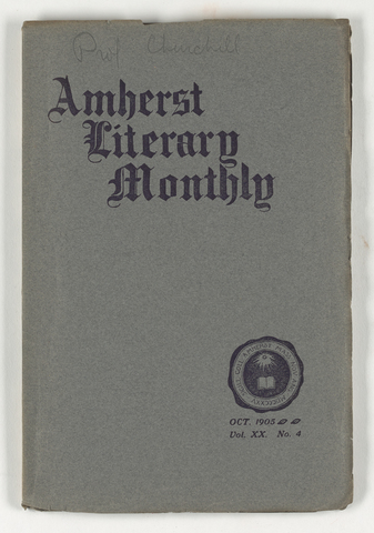 Amherst literary monthly, 1905 October