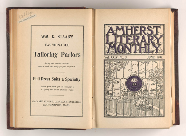 Amherst literary monthly, 1909 June