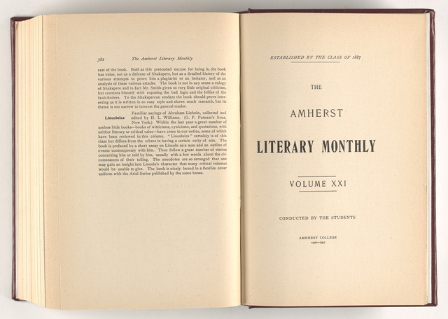 Amherst literary monthly, 1907 February