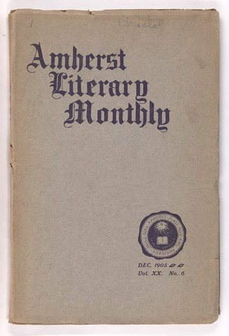 Amherst literary monthly, 1905 December