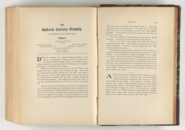 Amherst literary monthly, 1906 February