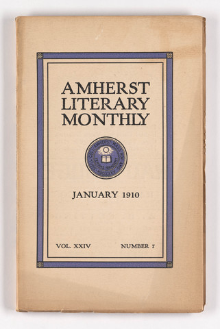 Amherst literary monthly, 1910 January