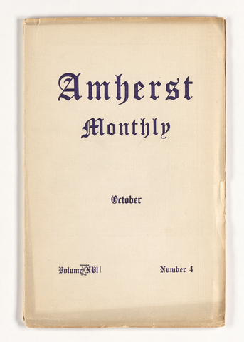Amherst monthly, 1912 October