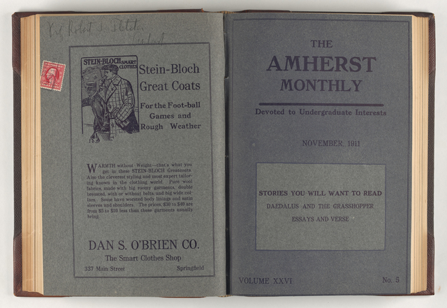 Amherst monthly, 1911 November