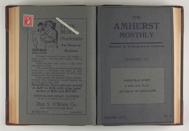 Amherst monthly, 1911 December