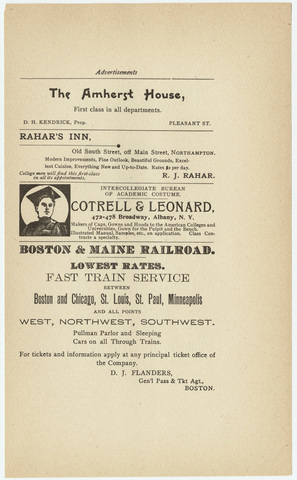 Amherst literary monthly, 1904 October