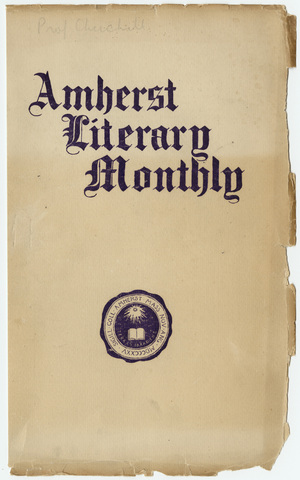 Amherst literary monthly, 1905 March
