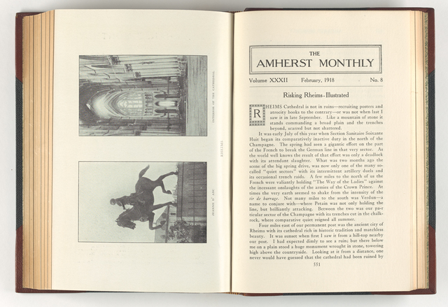 Amherst monthly, 1918 February