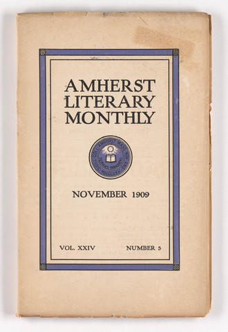 Amherst literary monthly, 1909 November