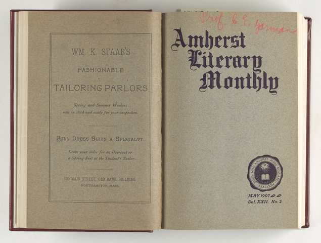Amherst literary monthly, 1907 May