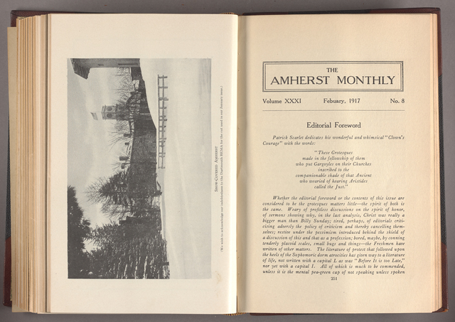 Amherst monthly, 1917 February