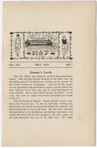 Amherst literary monthly, 1904 May