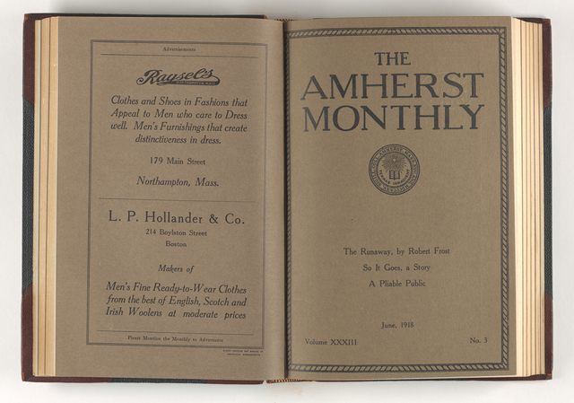 Amherst monthly, 1918 June